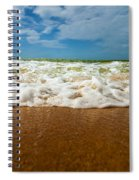 Caribbean Waves Spiral Notebook
