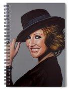 Carice Van Houten Painting Spiral Notebook