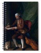 Carl Friedrich Abel, C.1777 Spiral Notebook