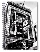 Carlos And Pepe's Montreal Mexican Bar Bw Spiral Notebook