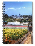 Carlsbad Flower Fields Spiral Notebook