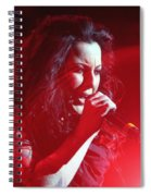 Carly And The Concert Lighting Spiral Notebook