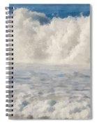 Carmel By The Sea California Beach Spiral Notebook