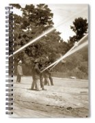 Carmel Fire Department California Circa 1930 Spiral Notebook