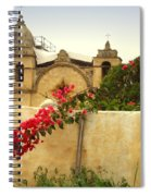 Carmel Mission Getting A Facelift Spiral Notebook