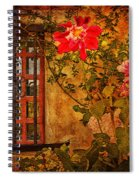 Carmel Mission Wall Spiral Notebook