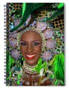 Carnaval Beauty Spiral Notebook