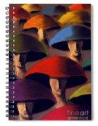 Carnaval Spiral Notebook