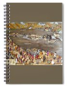 Carnival At River Spiral Notebook