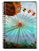 Carnival Colors Spiral Notebook