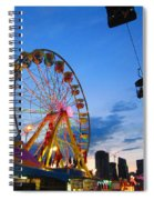 Carnival Colours Spiral Notebook