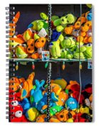 Carnival Critters Spiral Notebook