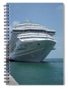 Carnival Freedom Bow Spiral Notebook