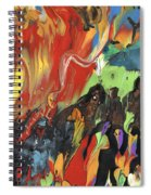 Carnival In Spain Spiral Notebook