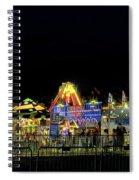 Carnival Life At Night 01 Spiral Notebook