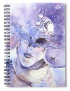 Carnival Mask Spiral Notebook