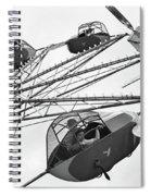 Carnival Ride, 1942 Spiral Notebook