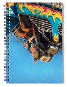 Carnival - Ride - The Thrill Of The Carnival  Spiral Notebook