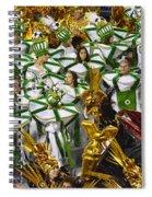 Carnival Rio De Janeiro 14 Spiral Notebook