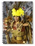 Samba Beauty 2 Spiral Notebook