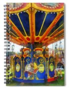 Carnival - Super Swing Ride Spiral Notebook