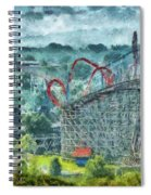 Carnival - The Thrill Ride Spiral Notebook