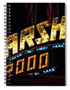 Carny Night 4 Spiral Notebook