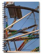 Carny Ride Spiral Notebook