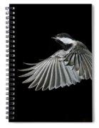 Carolina Chickadee Spiral Notebook