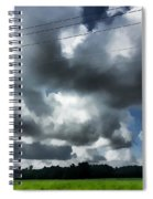 Carolina Clouds Spiral Notebook