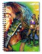 Carolina On My Mind Spiral Notebook