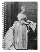 Caroline Lavinia Harrison (1832-1892) Spiral Notebook