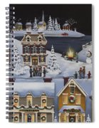 Caroling In Winterberry Spiral Notebook