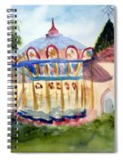 Carosel At Old School Square Spiral Notebook