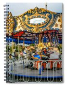 Carousel 3 Spiral Notebook