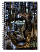 Carousel At Night Spiral Notebook