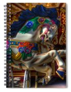 Carousel Beauty Ready To Roll Spiral Notebook