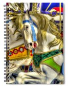 Carousel Charger Spiral Notebook