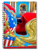 Carousel Chariot Spiral Notebook