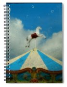 Carousel Day Spiral Notebook