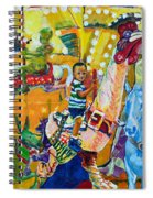 Carousel Dreams Spiral Notebook