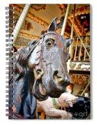 Carousel Horse Head Spiral Notebook