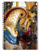 Colorful Carousel Merry-go-round Horse Spiral Notebook