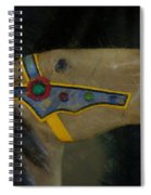 Carousel Horse Painterly 2 Spiral Notebook