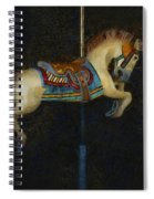 Carousel Horse Painterly Spiral Notebook