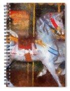 Carousel Horse Photo Art 02 Spiral Notebook