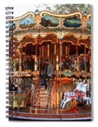 Carousel In Avignon Spiral Notebook