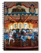 Carousel Ride Spiral Notebook