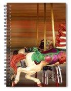 Carousel Rush Spiral Notebook