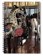 Carousel War Horse Spiral Notebook